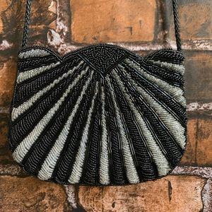 Vintage Carla Marchi Art Deco Style Beaded Purse